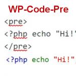 wp-code-pre